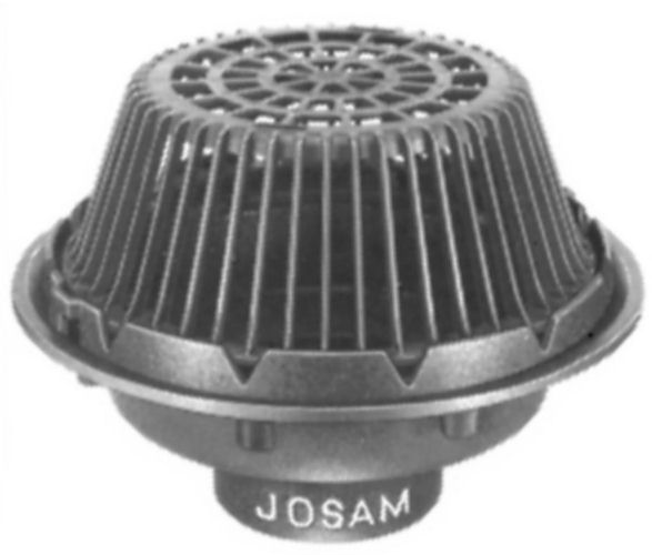 Js21500 Josam 21500 Roof Drain 15 Dome Large Sump