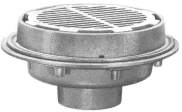 Js32200 Josam 32200 Floor Drain Shallow Sump 12 Top By