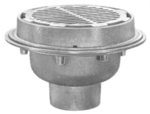 Js32300 Josam 32300 Floor Drain Medium Sump 12 Top By