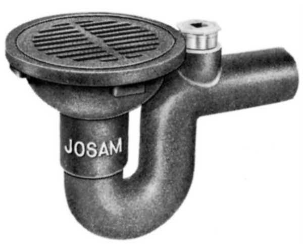 Js38250a Josam 38250a Round Top With Cleanout And Bwv By