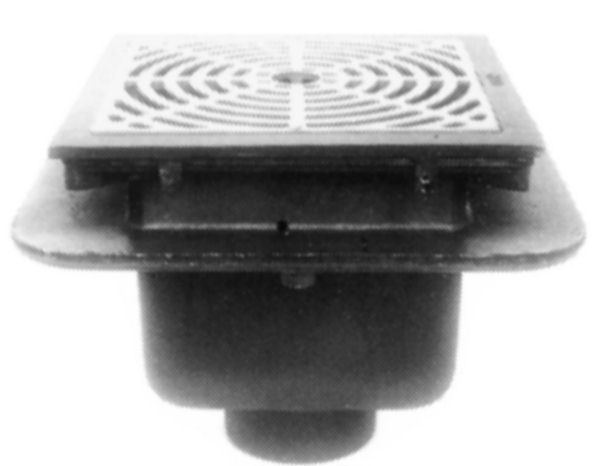 Js39240 Josam 39240 Floor Drain 12 Quot Square C I Top Can