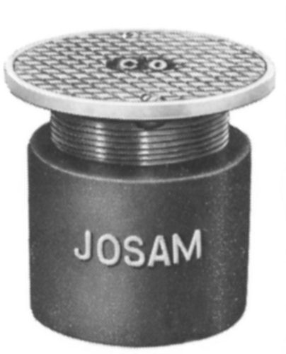 Js58360 Josam 58360 Cleanout Round Adj Nikaloy Top W