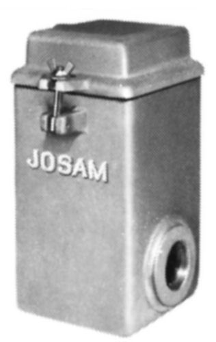 Js61030 Josam 61031 1 2 Solids Interceptor By Commercial