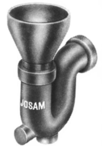 Js88210 Josam 88210 Deep Seal Trap Funnel Inlet By